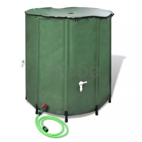 Сгъваем резервоар за дъждовна вода, 250 литра