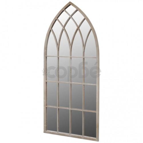Градинско готическо огледало арка 50x115 см за открито/закрито