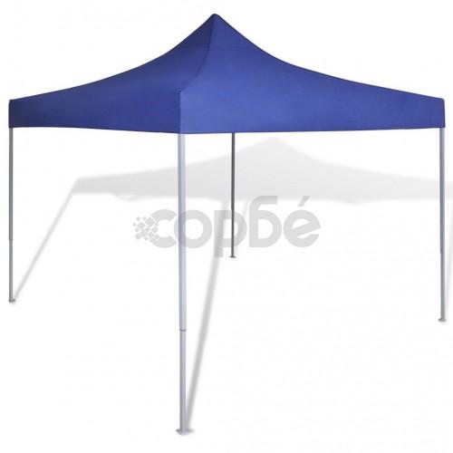 Синя сгъваема шатра 3 х 3 м