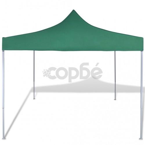 Сгъваема шатра 3 х 3 м, зелена