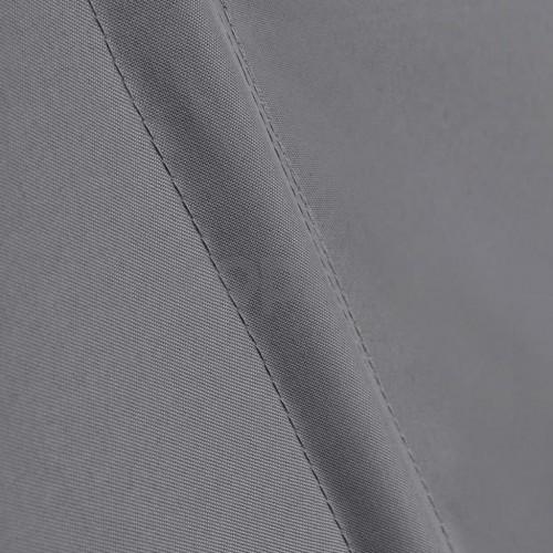 Сгъваема странична тента за балкон, сива, 140x140 см