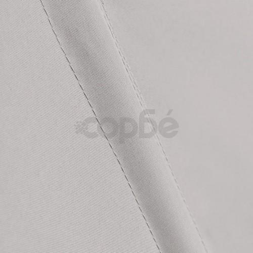 Сгъваема странична тента за балкон, кремава, 210x210 см
