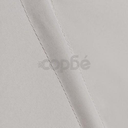 Кремав сгъваем навес за двор или тераса 140 х 140 см