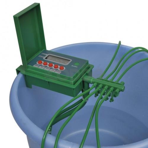 Автоматична поливна система с пръскачка и таймер