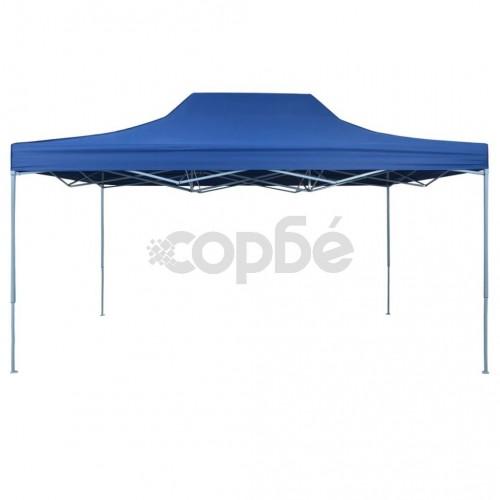 Сгъваема шатра, 3х4,5 м, синя