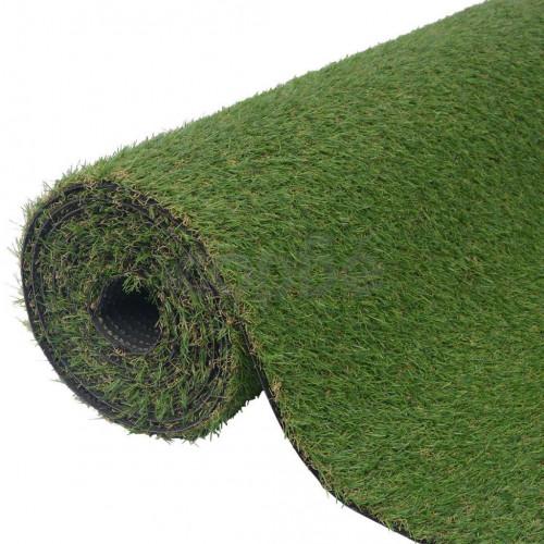 Изкуствена трева, 1,5x10 м / 20-25 мм, зелена