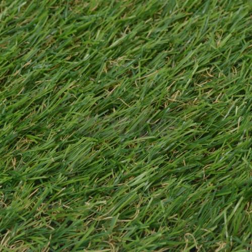 Изкуствена трева, 1x15 м / 20-25 мм, зелена