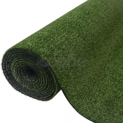 Изкуствена трева, 1x20 м / 7-9 мм, зелена
