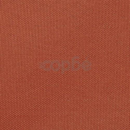 Балконски екран от оксфорд плат, 75x400 см, цвят теракота