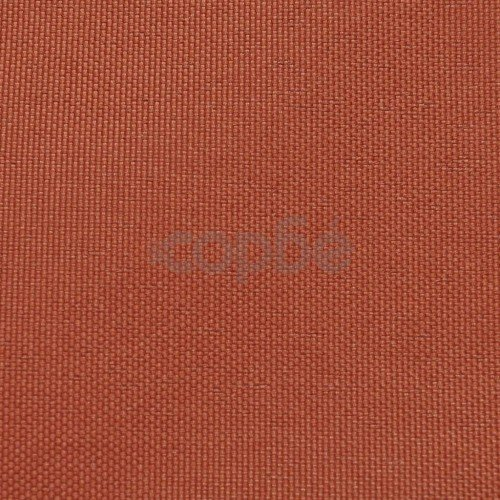 Балконски екран от оксфорд плат, 75x600 см, цвят теракота