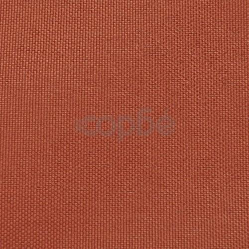 Балконски екран от оксфорд плат, 90x400 см, цвят теракота