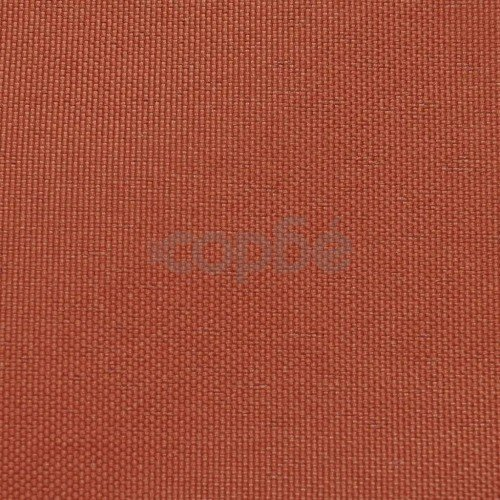Балконски екран от оксфорд плат, 90x600 см, цвят теракота