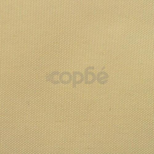Балконски екран от оксфорд плат, 75x600 см, бежов