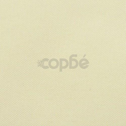 Балконски екран от оксфорд плат, 75x600 см, кремав