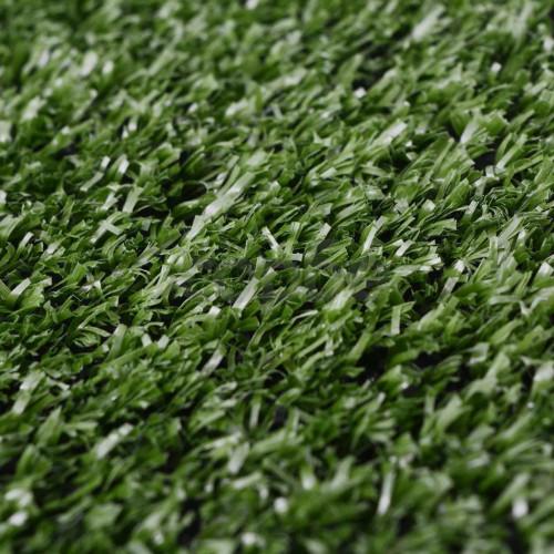Изкуствена трева, 1x15 м / 7-9 мм, зелена