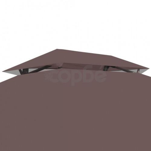 Градинска конвертируема люлка с шатра, кафе