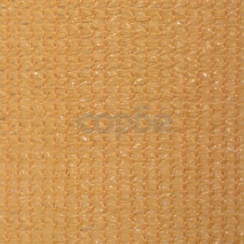Външна ролетна щора, 140x140 см, бежова