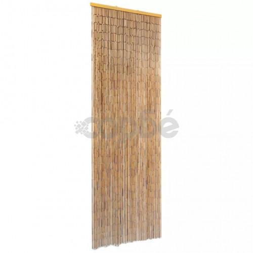 Завеса за врата против насекоми, бамбук, 56x185 cм