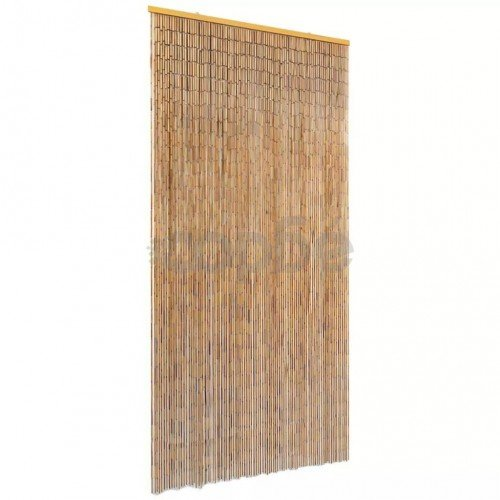 Ресни за врата против насекоми, бамбук, 90x220 cм