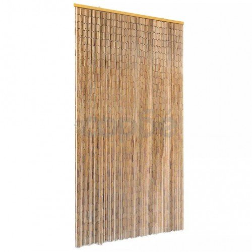 Завеса за врата против насекоми, бамбук, 100x220 cм