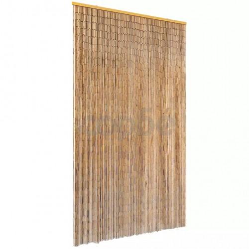 Ресни за врата против насекоми, бамбук, 120x220 cм