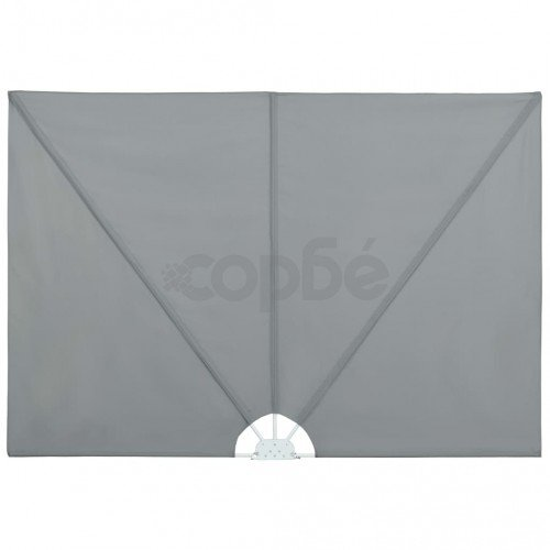 Градински сенник, сгъваем, 300x200 см, сив