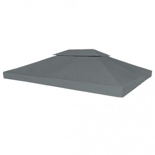 Двоен покрив за шатра, 310 г/м², 4x3 м, антрацит