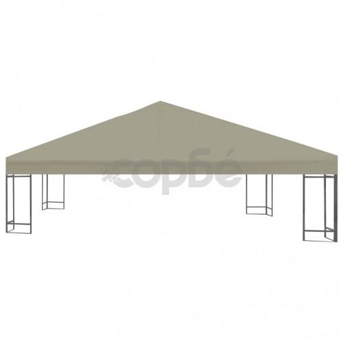 Покрив за шатра, 310 г/м², 3x3 м, бежов