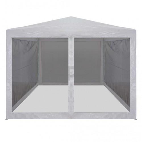 Парти шатра с 4 мрежести стени, 3х3 м
