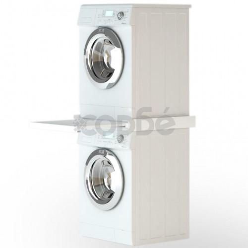 Стифираща стойка за перални с подвижен рафт
