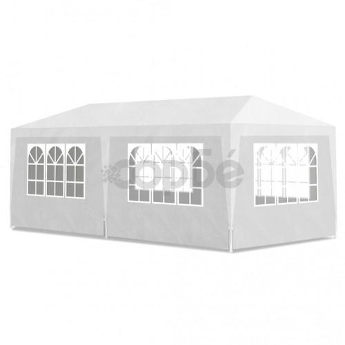 Градинска шатра, 3х6 м, 6 стени, бяла