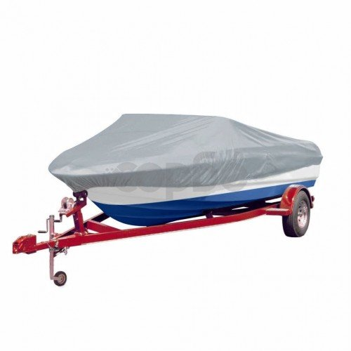 Покривало за лодка 519-580 см х 244 см (д х ш), цвят сив