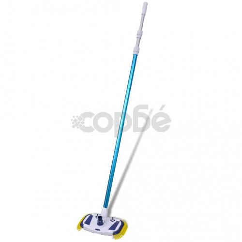 Почистващ вакумен уред за басейни с телескопична дръжка и маркуч