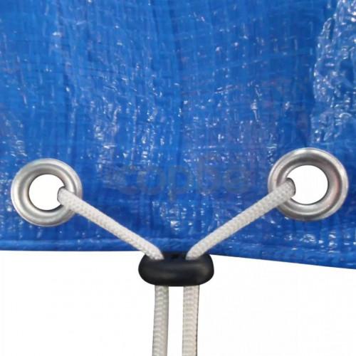 Покривало за басейн от PE, правоъгълна форма, 394 х 207 см, 90 g/m2