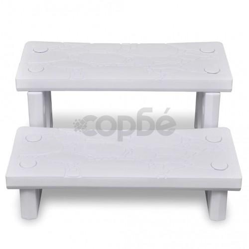 Бели стъпала за спа