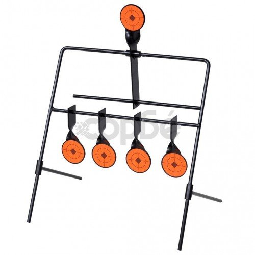 Автоматична мишена за стрелба с 4+1 ротационни цели
