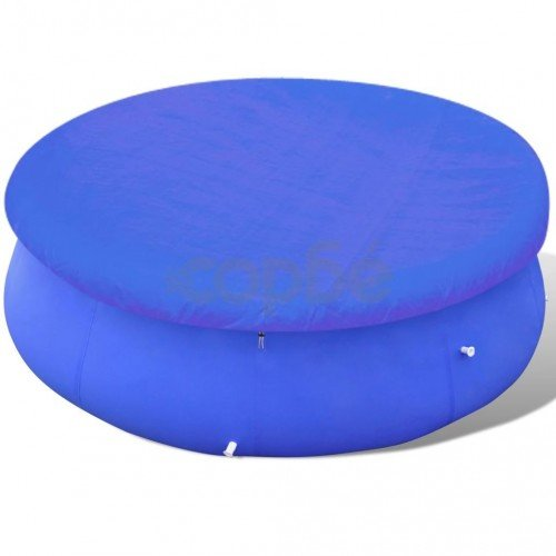 Покривало за басейн от PE, кръгла форма, 540 см, 90 г/м2